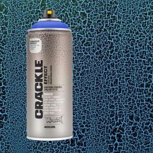 Crackle blauw