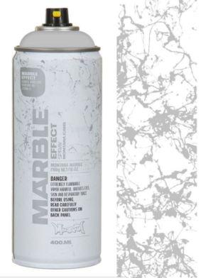 Montana Marmer Effect Spuitbussen 400 ml Zilver