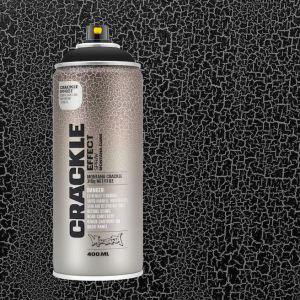 Crackle zwart