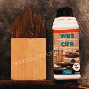 Verniswas Zwart extra mat 500 ml Polyvine