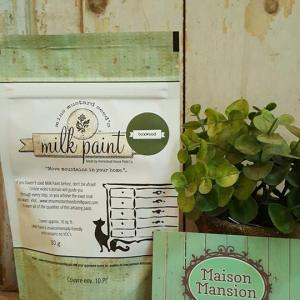 Tester Miss Mustard Seed's Milk paint Boxwood