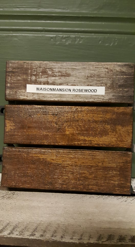 polyvine wood stain rosewood maisonmansion