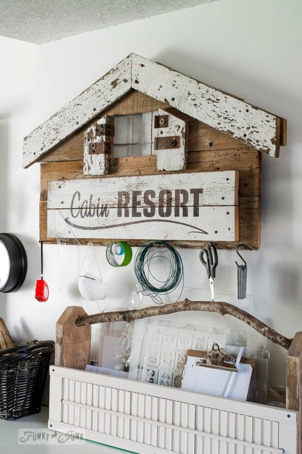 Cabin Resort groot sjabloon