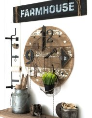 Farmhouse sjabloon , Farmhouse Funky junk stencil, Funky junk Nederland