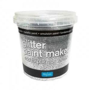 Glitter paint maker Zilver