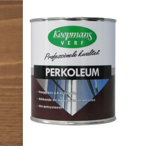 Perkoleum transparant Donker Eiken 750 ml
