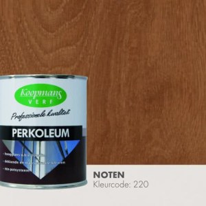 Perkoleum noten hoogglans transparant 750 ml