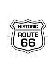 funky junk route 66 sjabloon