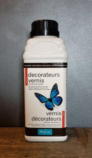Polyvine Decorateurs Vernis zijdeglans 1 liter