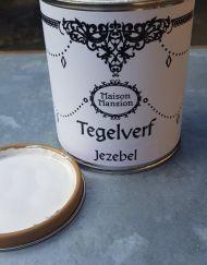 Verf je tegels met de tegelverf Jezebel van MaisonMansion