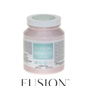 Fusion Mineral Paint English Rose 500 ml