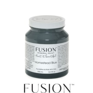 Fusion Mineral Paint Homestead Blue 500 ml