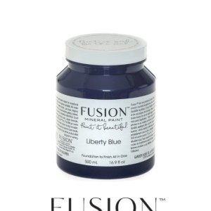Fusion Mineral Paint Liberty Blue 500 ml