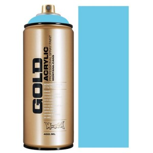 Baby Blue Montana Gold spuitbus 400 ml