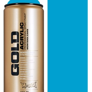 Light Blue Montana Gold spuitbus 400 ml
