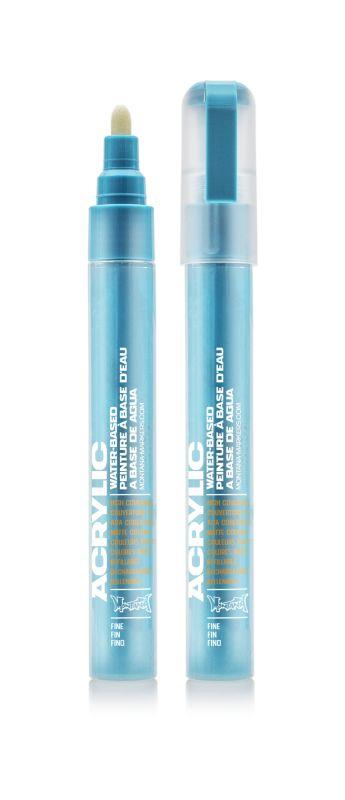 Montana Acrylic Marker 100% Cyan 2 mm