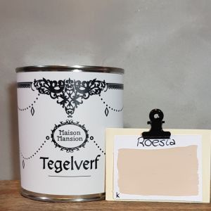 Tegelverf Roesia 500 ml Maisonmansion