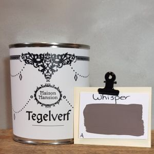 Tegelverf Whisper 500 ml Maisonmansion