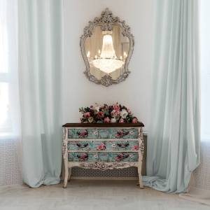 Transfer Rustic Teal  MaisonMansion