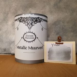 Ysee Metallic muurverf 1 liter Maisonmansion