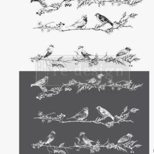 Transfer Birds & Berries MaisonMansion
