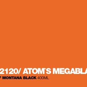 Atom`s Megablast Montana Black spuitbus 400 ml