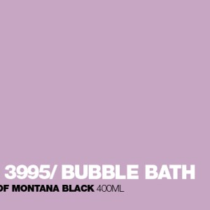 Bubble Bath Montana Black spuitbus 400 ml