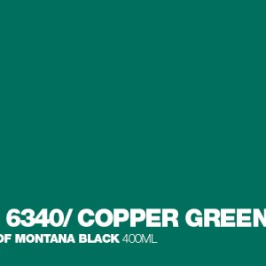 Copper Green Montana Black spuitbus 400 ml