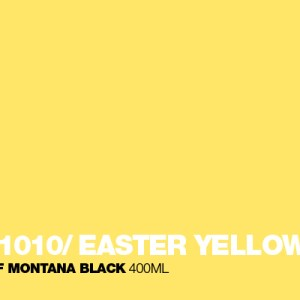 Easter Yellow Montana Black spuitbus 400 ml