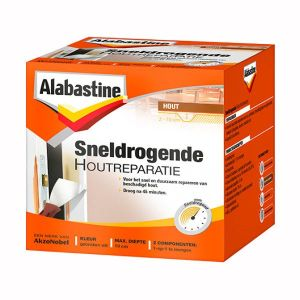 Sneldrogende Houtreparatie 500 gr Alabastine
