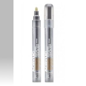 Montana Acrylic Marker Outline Silver 2 mm