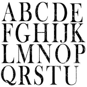 Typesetting Stamp