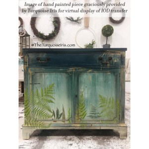 Fronds Botanical transfer IOD