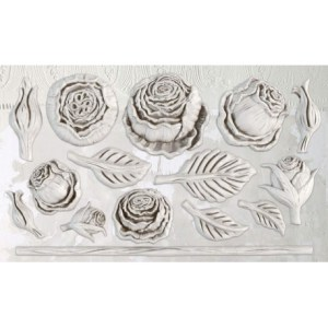 Heirloom Roses IOD mould