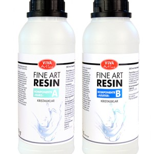 Fine art Resin 1.5 kg twee componenten