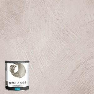 Metallic Paint Zilver Polyvine 1 liter