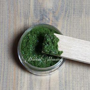 Dust Groen met een glittertje