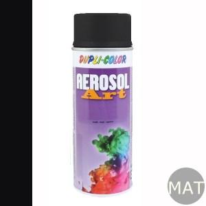 Spuitbus RAL 9005 mat aerosol