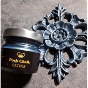 Blue Purssian Patina Gilding Wax aqua