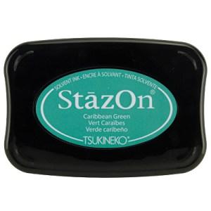 Carribean Green Inkt StaZon