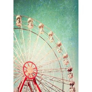 Ferris Wheel  decoupage