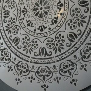 2 Mandala sjabloon 40 cm