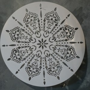 1 Mandala sjabloon 40 cm