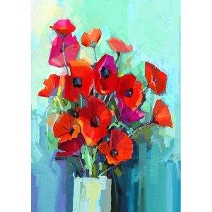 Poppies decoupage