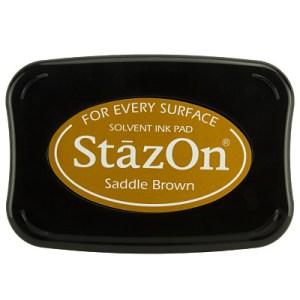 Saddle Brown Inkt StaZon