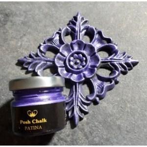 Violet Patina Gilding Wax aqua