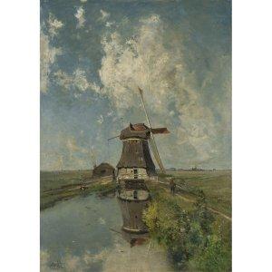Windmill decoupage