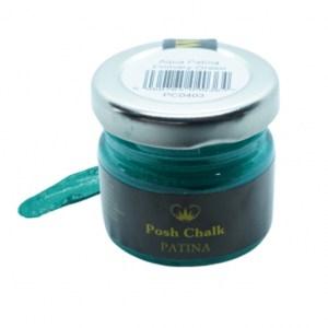Primary Green Patina Wax aqua
