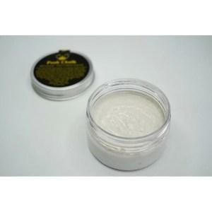 Pearl White Textured Paste