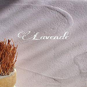 Lavendel Beton Ciré bladafwerking